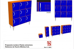P-65a lockers
